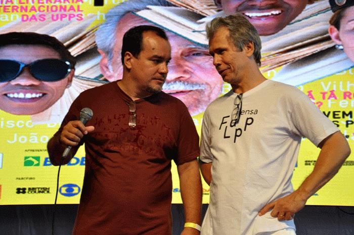 Ecio Salles e Julio Ludemir, criadores da FLUPP – Por Iere Ferreira