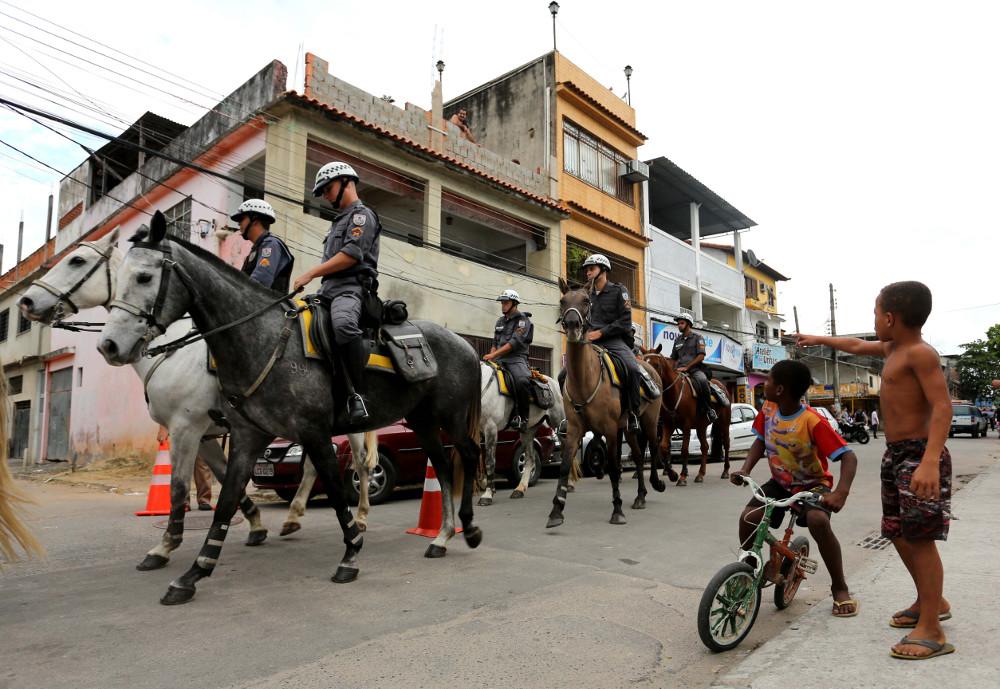 A inauguração da UPP da Vila Kenedy. Foto: Carlos Magno