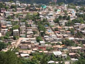 Barrio em Honduras