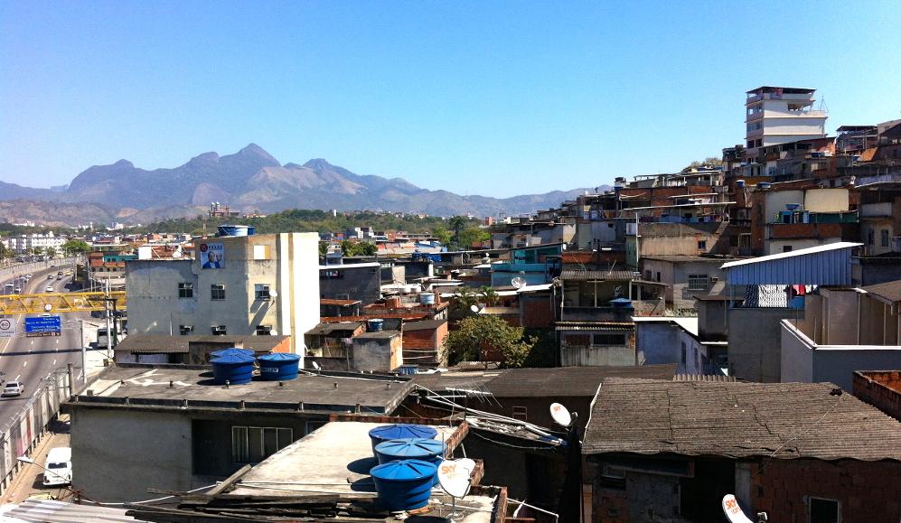Vista de casa de Osmar