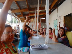 Votação no MCMV-En da Colônia Juliano Moreira