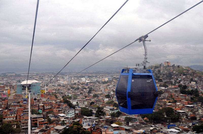 Teleférico do Alemão. Foto: André Gomes de Melo