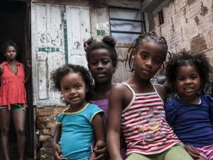 As crianças são o fio condutor das atividades culturais que acontecem na Mama África. Foto: Bruno Morais/Coletivo Pandilla