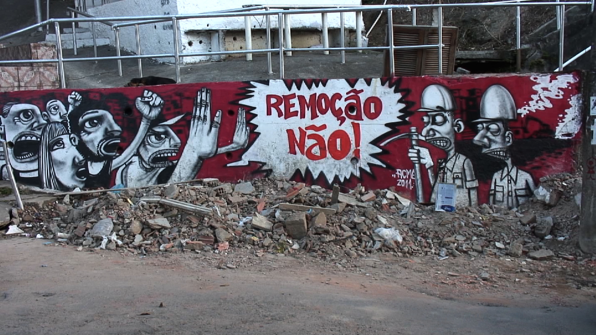 NO_EVICTIONSgraffiti
