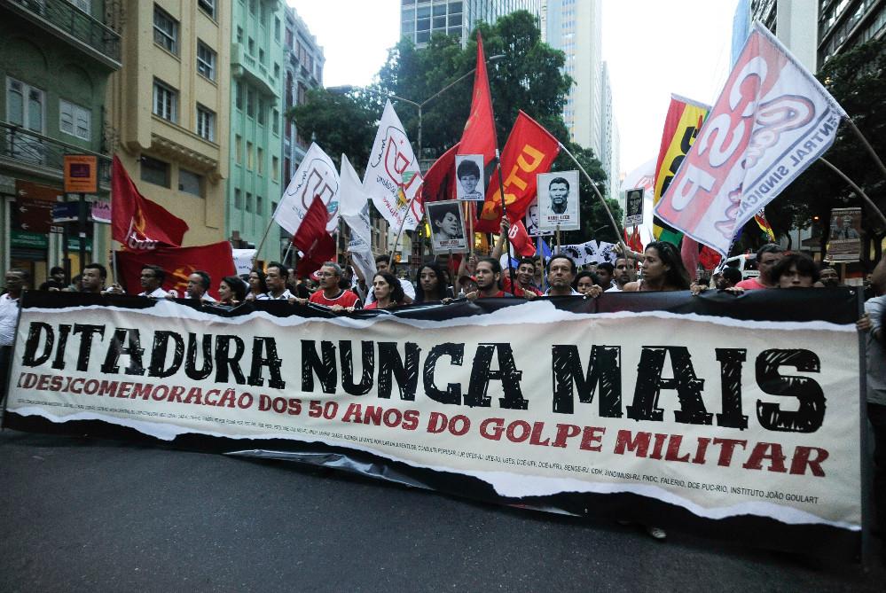 Ditadura Nunca Mais Protesto