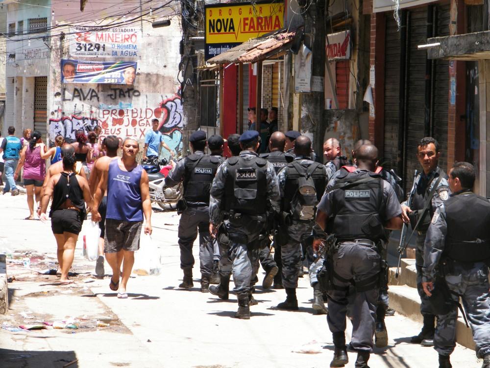 Polícia ocupa o Complexo do Alemão