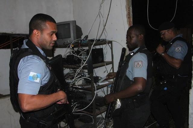 Policiais da UPP do Morro do Adeus. Foto: Jadson Marques
