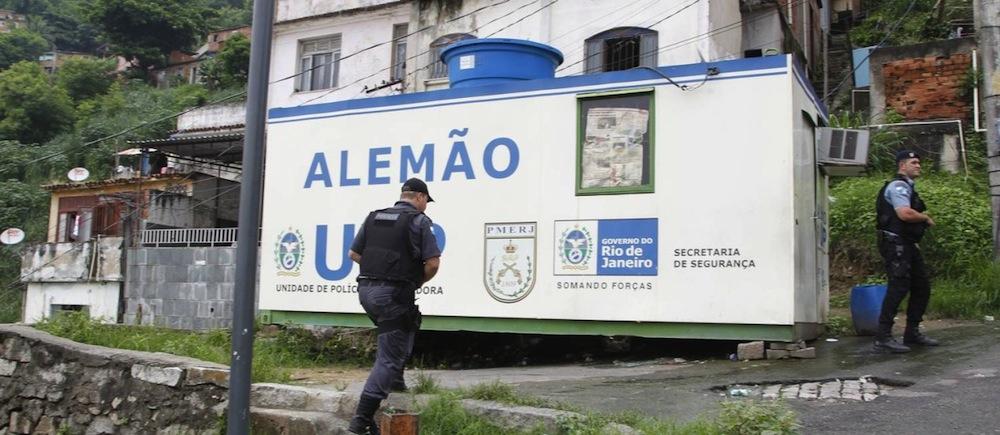 A UPP da Pedra do Sapo já foi atacada várias vezes. Foto: Marcelo Carnaval / Agencia O Globo
