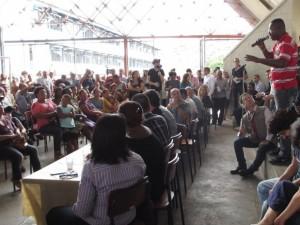 Evento público para discutir violação de direitos humanos no Alemão