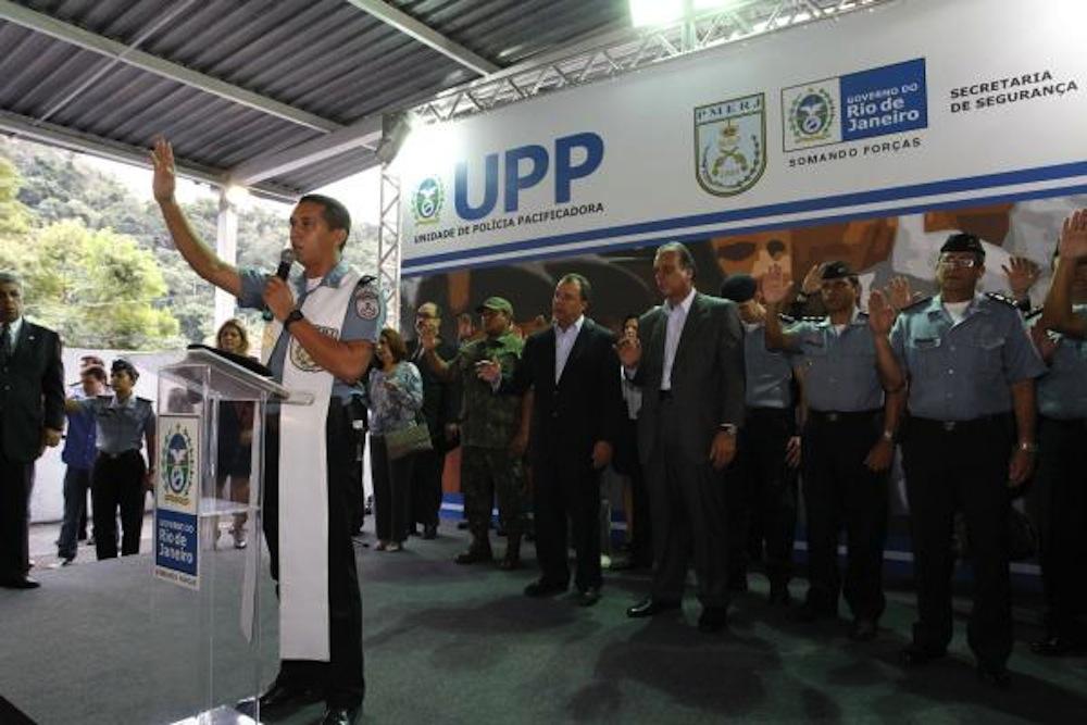 Inauguração da UPP de Cerro Corá.