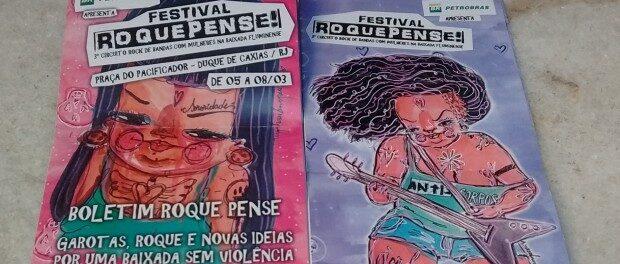 Panfletos do Roque Pense!