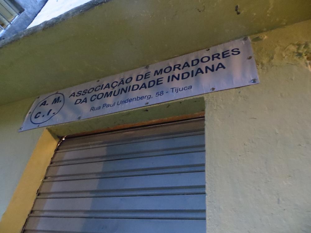 Associação de moradores da comunidade Indiana