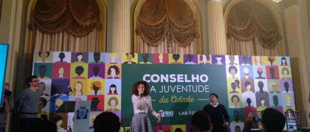 A Prefeitura do Rio lança o Conselho da Juventude
