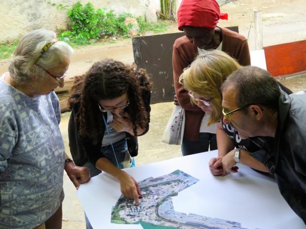 Mapeamento na Vila Autodromo