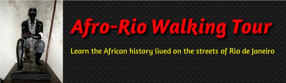 Site do Afro-Rio Walking Tour