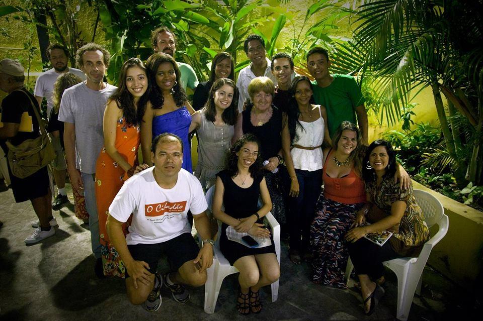 Festa de 15 anos do Jornal comunitário da Maré O Cidadão. Foto por Rafael Daguerre