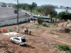 Demolições na Vila Autódromo no 23 de outubro de 2015