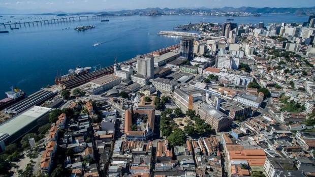 O Museu do Amanhã senta-se na ponta do Porto Maravilha, com vista para a Baía de Guanabara. (A Iniciativa Megacity)
