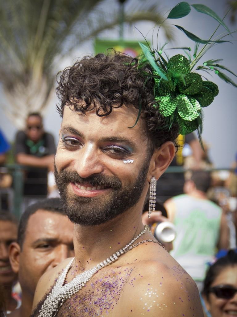 Bloco de carnaval dedicado ao sambista Paulinho da Viola. Foto por Monara Barreto, 08 de fevereiro de 2015.