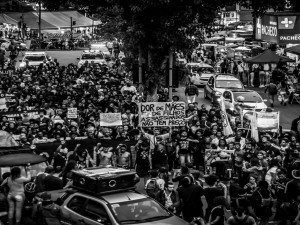 Protesto em Madureira. Foto por Ian Miranda
