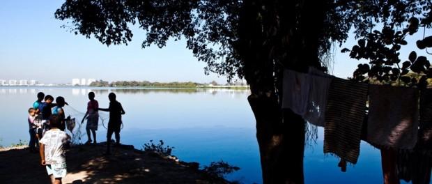 Vila Autódromo era uma comunidade tradicional de pescadores. Foto por AF Rodrigues