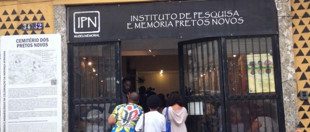 Resultado de imagem para instituto dos pretos novos