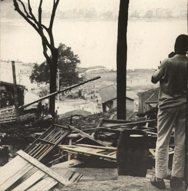 Remoção da Catacumba, 1968. Foto por Correio da Manhã