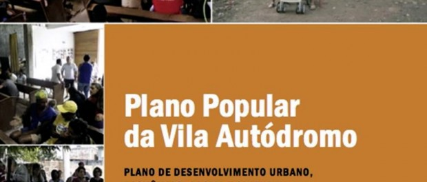 Capa do Plano Popular da Vila Autódromo