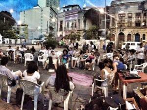 Evento debate sobre a água do Rio. Foto por Se a Cidade Fosse Nossa na página do Facebook
