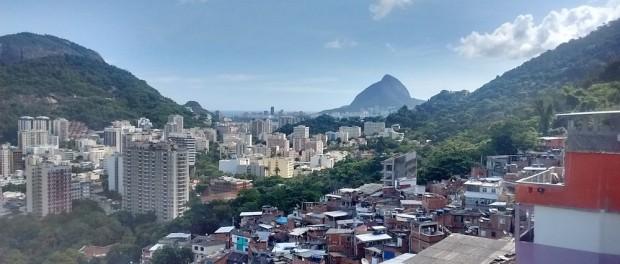 Vista do Santa Marta