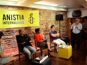 Lançamento do relatório da Anistia internacional Estado dos Direitos Humanos no Mundo 2016