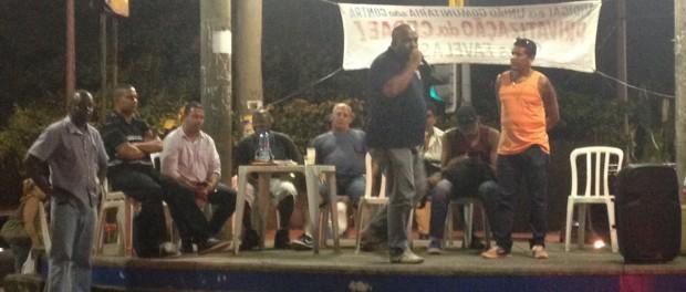 community-leaders-vidigal-CEDAE-meeting