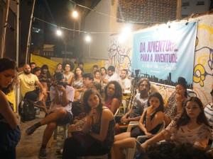 Jovens de todo o Rio se reuniram na Casa da Juventude para debater o impacto do planejamento urbano no acesso aos direitos