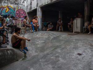 Imagem da Ocupação Vito Gianotti na página do Facebook