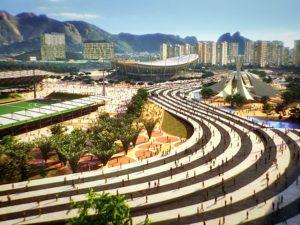 Visualização do Parque Olímpico. Imagem do CidadeOlimpica.com.br