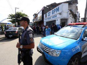 Polícia Militar na Maré. Foto por André Gomes de Melo/ GERJ