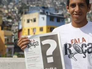 Michel Silva do Fala Rocinha e Viva Rocinha