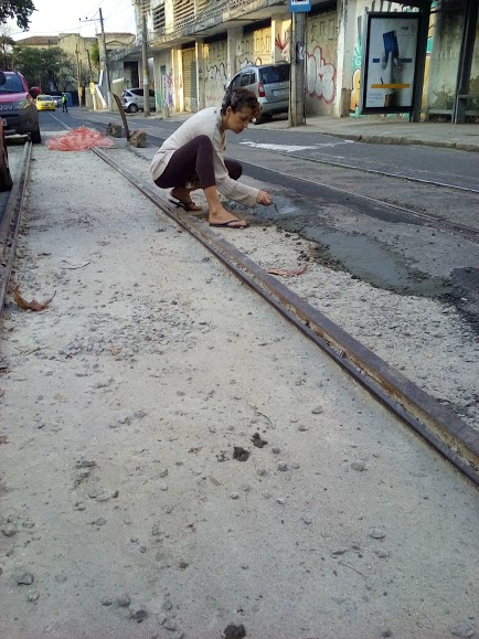 Residents fill in the holes themselves to prevent further accidents.