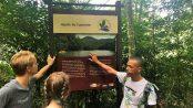 Adilson Almeida guia caminhada floresta da Pedra Branca