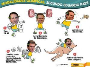 Paródia - Prefeito Eduardo Paes competindo em 5 modalidades Olímpicas