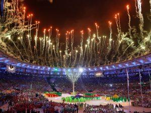 Cerimônia de encerramento dos Jogos Olímpicos Rio 2016, no Maracanã (Fernando Frazão/Agência Brasil)