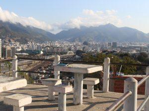 Vista da Praça Buraco Quente, no Morro da Providência. Foto: Miriane Peregrino