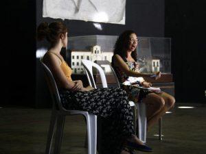 Carolina Vaz e Gisele Martins do O Cidadão. Foto por Natalie Southwick