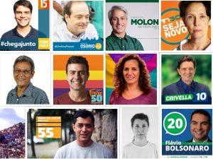Candidatos a prefeito do Rio 2016