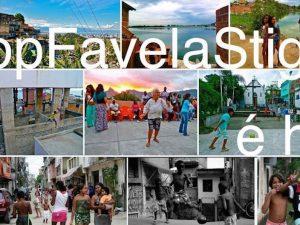 Imagem de chamada da campanha #StopFavelaStigma