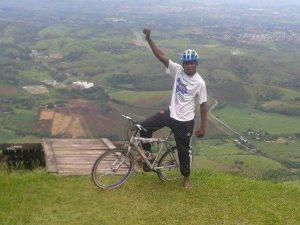 Ativista de ciclismo Carlos Leandro