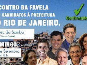 Candidatos a Prefeito do Rio se Reúnem com Favelas.