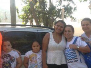 família na Vila Autódromo