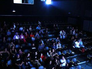 Público da Mostra de Filmes Imagens e Complexos