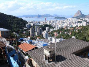 Vista da Zona Sul da Favela Pereira da Silva